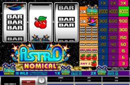 Бесплатный игровой автомат Astronomical