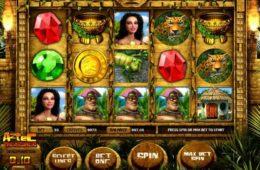 Бесплатная казино слот-машина онлайн Aztec Treasures