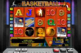 Basketball бесплатный онлайн игровой слот