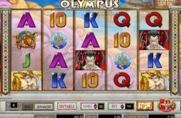 Бесплатный онлайн игровой автомат Battle for Olympus
