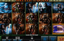 Battle of the Gods играть в слот без регистрации без депозита