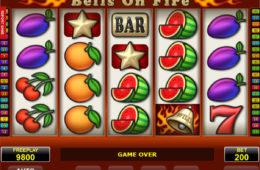 Играть на деньги в автомат Bells on Fire