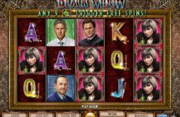 Играть бесплатный онлайн игровой автомат Black Widow