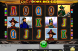 Скриншот игрового автомата Cannon Thunder онлайн бесплатно без регистрации