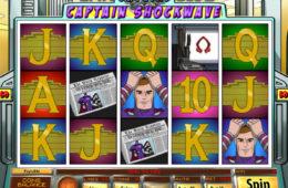 Бесплатный онлайн игровой автомат Captain Shockwave