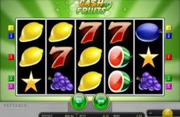 Cash Fruits Plus игровой аппарат онлайн