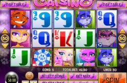 Бесплатный игровой автомат изображение  Catsino онлайн