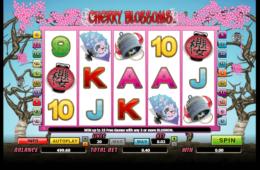 Бесплатный онлайн игровой автомат  Cherry Blossoms