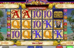 Азартный игровой автомат играть онлайн на деньги Chest of Plenty