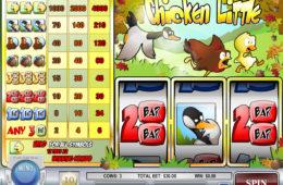 Изображение игрового автомата Chicken Little играть онлайн бесплатно