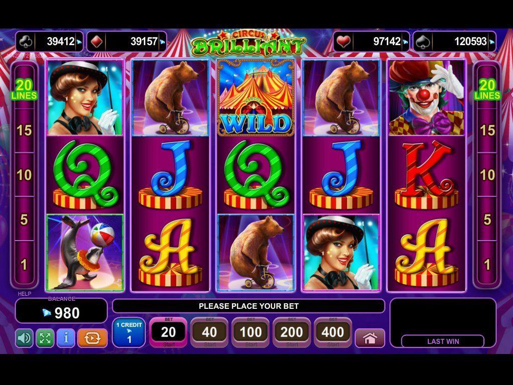 Circus brilliant цирковой бриллиант игровой автомат xbet