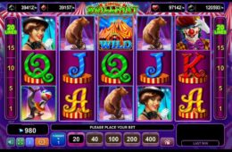 Играть в бесплатный игровой автомат Circus Brilliant