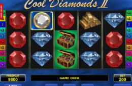 Cool Diamonds II играть в слот без регистрации без депозита