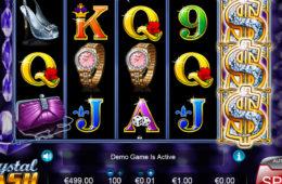 Изображение игровой аппарат Crystal Cash онлайн играть без регистрации