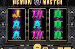 Бесплатный онлайн игровой автомат Demon Master