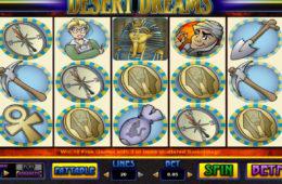 Играть казино игры Desert Dreams бесплатно без регистрации