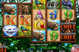 Игровой автомат Diamond Chief бесплатно онлайн