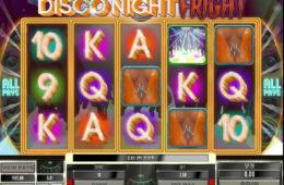 Бесплатный онлайн игровой автомат Disco Night Fright