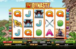 Бесплатный онлайн игровой автомат Dynasty