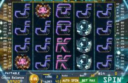 Скрин из бесплатного игрового автомата Electron