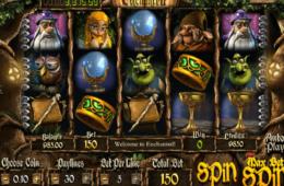 Бесплатный игровой автомат онлайн Enchanted