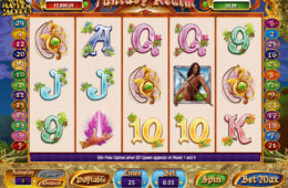 Бесплатный игровой автомат Fantasy Realm онлайн