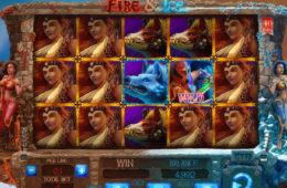 Бесплатный онлайн игровой автомат Fire and Ice