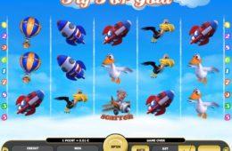 Азартный игровой автомат играть онлайн на деньги Fly for Gold