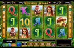 Бесплатный казино автомат Fortune Spells