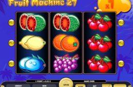 Бесплатный онлайн игровой автомат Fruit Machine 27
