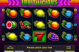 Fruitilicious Бесплатный игровой аппарат