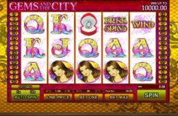 Бесплатный онлайн игровой автомат Gems and the City