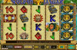 Бесплатный игровой автомат онлайн Golden Jaguar