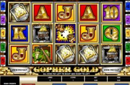 слот Gopher Gold играть бесплатно онлайн