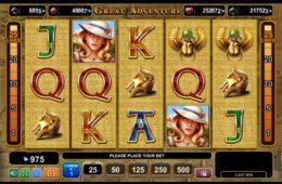 Great Adventure Бесплатный игровой аппарат онлайн
