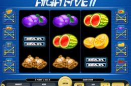 Онлайн бесплатно без регистрации играть казино High Five II