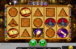 Изображение из игрового автомата Hocus Pocus Deluxe играть онлайн без регистрации