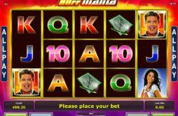 Изображение онлайн игрового автомата Hoffmania