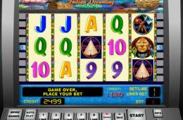 Играть на деньги в автомат Indian Dreaming