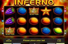 Бесплатный игровой аппарат Inferno онлайн