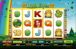 Бесплатный онлайн игровой автомат Irish Eyes