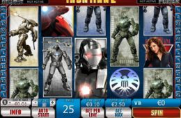 Игровой автомат казино Iron Man 2 онлайн бесплатно