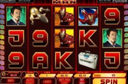 онлайн бесплатный игровой слот Iron Man
