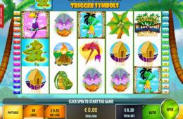 Играть онлайн бесплатно игровой автомат Island Quest