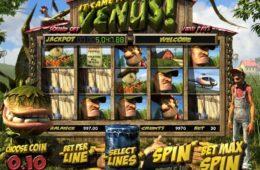 Бесплатная онлайн казино слот-машина It Came from Venus