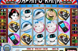 Изображение бесплатного онлайн игрового автомата Japan-O-Rama