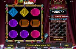 Онлайн бесплатный игровой аппарат Jewel Action без депозита