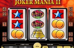 Joker Mania II играть бесплатно онлайн игровой автомат