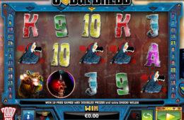 Бесплатный онлайн игровой автомат Judge Dredd