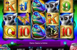 Скрин игрового автомата King Chameleon играть бесплатно онлайн